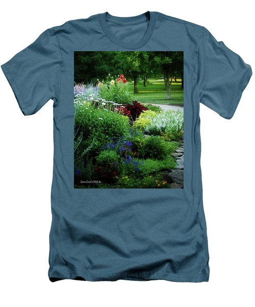 Summer View Men's T-Shirt (Slim Fit)