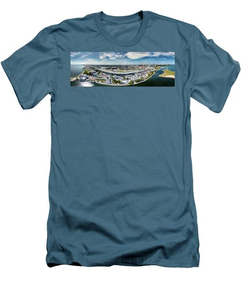 Summerfest Panorama Men's T-Shirt (Athletic Fit)