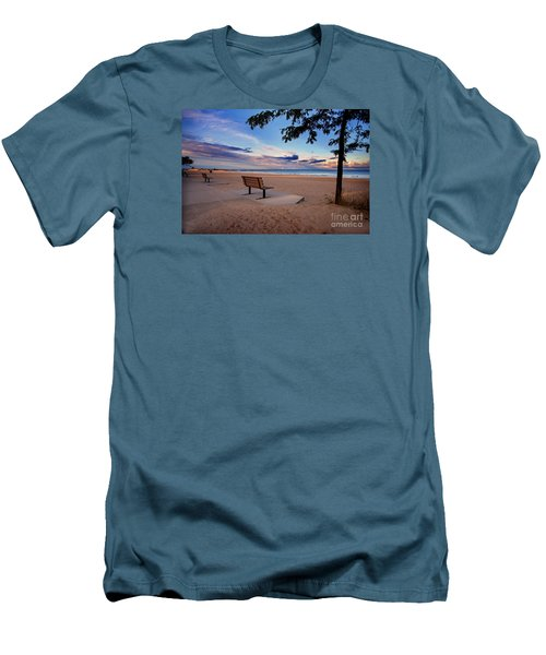 Men's T-Shirt (Slim Fit) featuring the photograph Summers Over by Randall  Cogle
