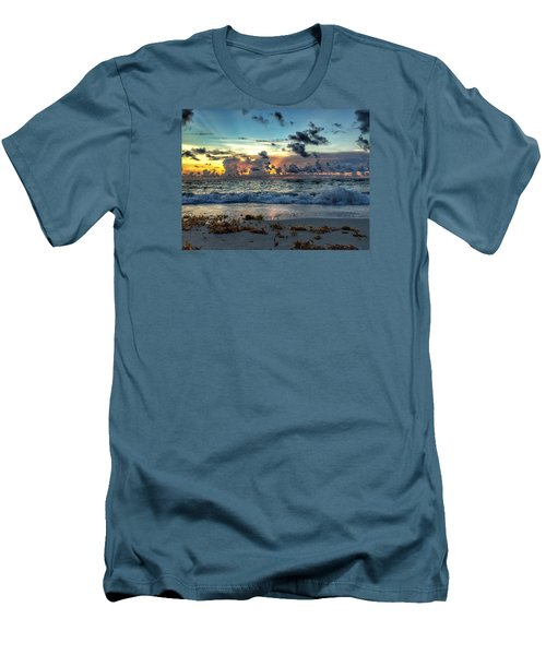 Sun Rays  Men's T-Shirt (Slim Fit)