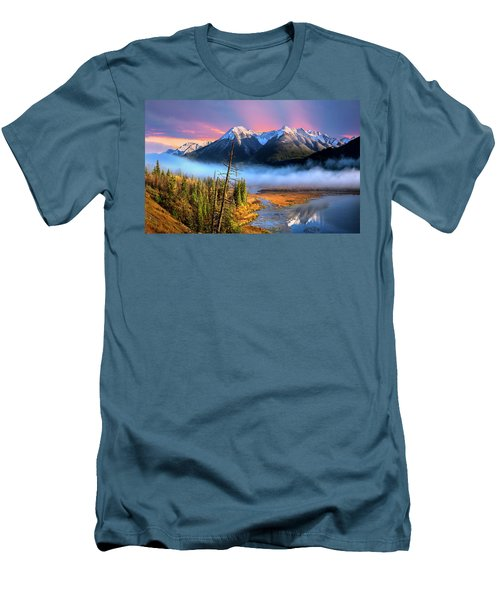 Men's T-Shirt (Slim Fit) featuring the photograph Sundance by John Poon