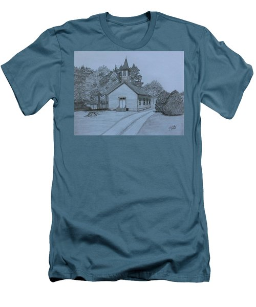 Sunday In Fairview  Men's T-Shirt (Slim Fit) by Tony Clark