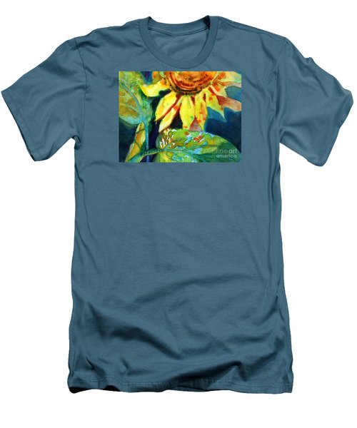 Sunflower Head 4 Men's T-Shirt (Athletic Fit)
