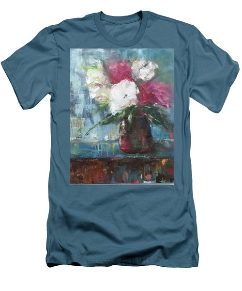 Sunlit Bouquet Men's T-Shirt (Athletic Fit)