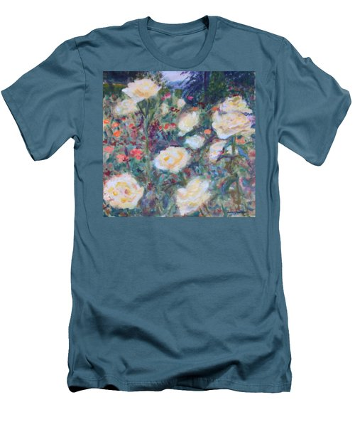 Sunny Day At The Rose Garden Men's T-Shirt (Athletic Fit)