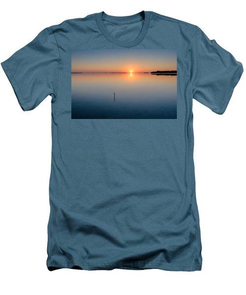 Sunrise Along The Pinellas Bayway Men's T-Shirt (Slim Fit) by Craig Szymanski