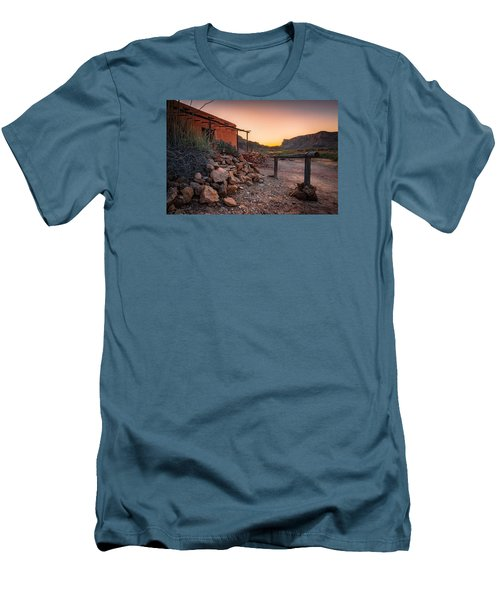 Sunrise At Contrabando Men's T-Shirt (Slim Fit) by Allen Biedrzycki