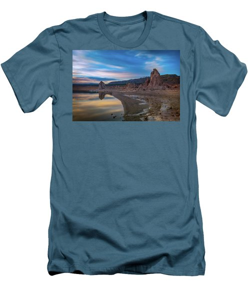 Sunrise At Mono Lake Men's T-Shirt (Athletic Fit)