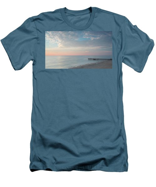 Sunrise At Sandbridge, Va Men's T-Shirt (Athletic Fit)
