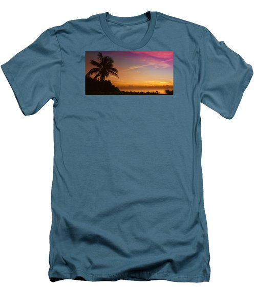 Men's T-Shirt (Slim Fit) featuring the photograph Sunrise Color by Don Durfee