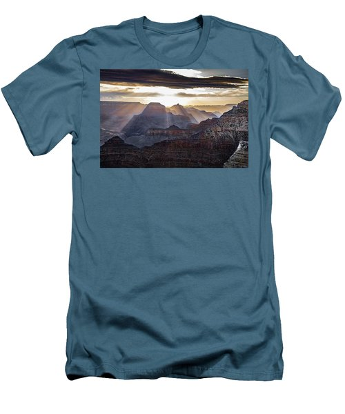 Sunrise Grand Canyon Men's T-Shirt (Slim Fit) by Phil Abrams