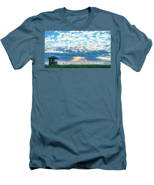 Sunrise Hope Delray Beach Florida Men's T-Shirt (Athletic Fit)