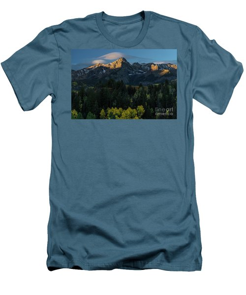 Sunrise In Colorado - 8689 Men's T-Shirt (Athletic Fit)