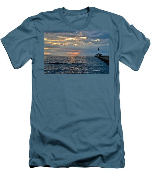 Sunrise In Duluth Men's T-Shirt (Athletic Fit)