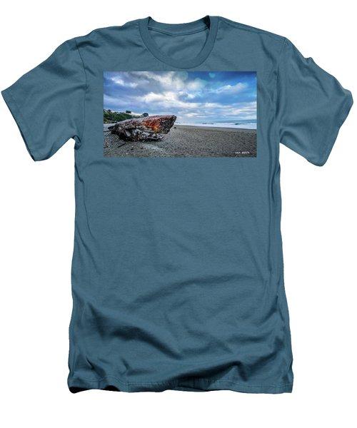 Sunrise On Brookings Men's T-Shirt (Athletic Fit)