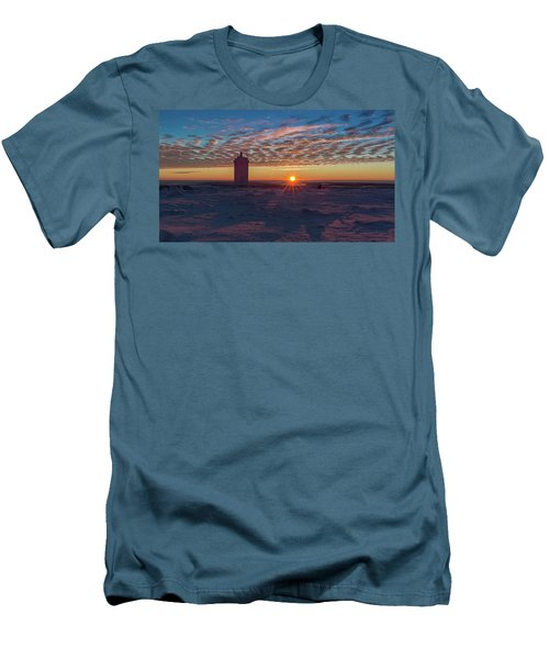 Sunrise On The Brocken, Harz Men's T-Shirt (Slim Fit) by Andreas Levi