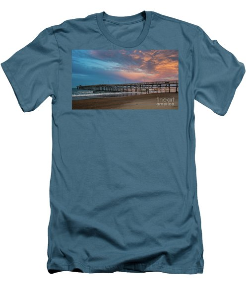 Sunset Over The Atlantic Men's T-Shirt (Slim Fit) by Scott and Dixie Wiley