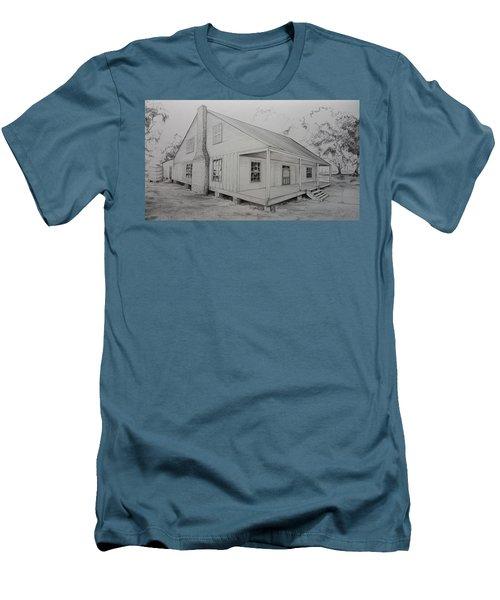 Sunrise Plantation  Men's T-Shirt (Athletic Fit)