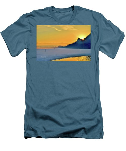 Sunrise Sparkle Men's T-Shirt (Athletic Fit)