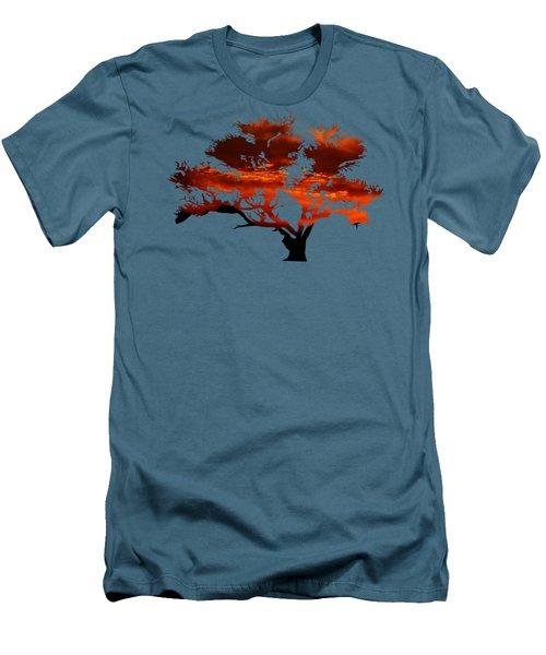 Sunrise Tree 2 Men's T-Shirt (Athletic Fit)