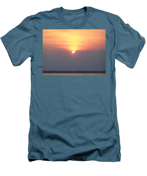 Men's T-Shirt (Slim Fit) featuring the photograph Sunset And The Storm by Sandi OReilly