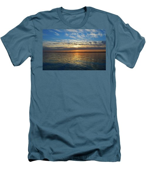 Sunset Dream  Men's T-Shirt (Slim Fit)