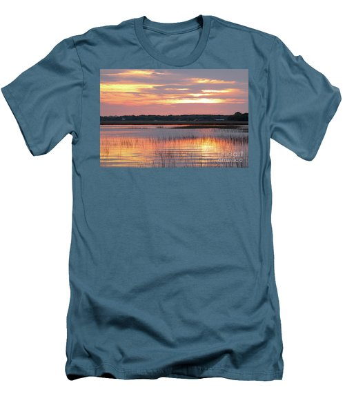 Sunset In South Carolina Men's T-Shirt (Athletic Fit)