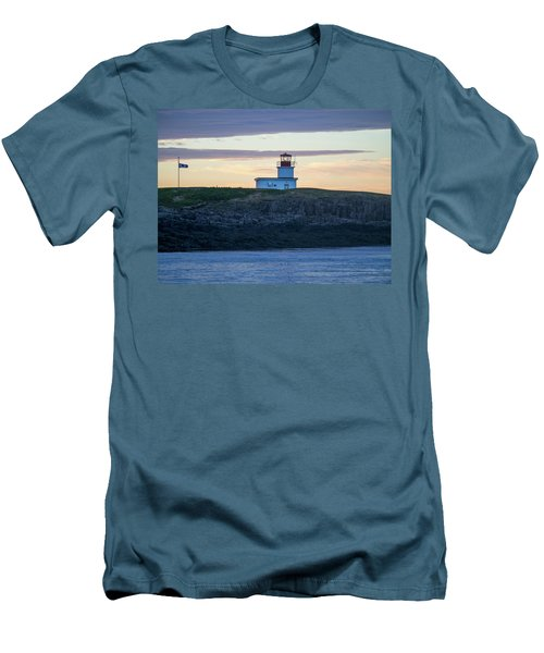 Sunset Nova Scotia  Men's T-Shirt (Slim Fit) by Trace Kittrell