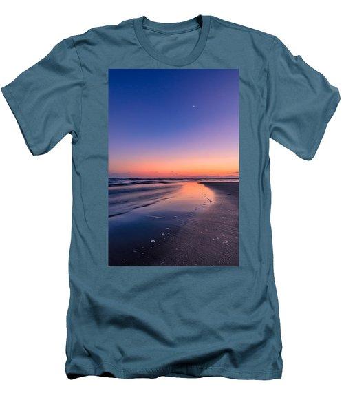 Sunset, Old Saybrook, Ct Men's T-Shirt (Slim Fit) by Craig Szymanski