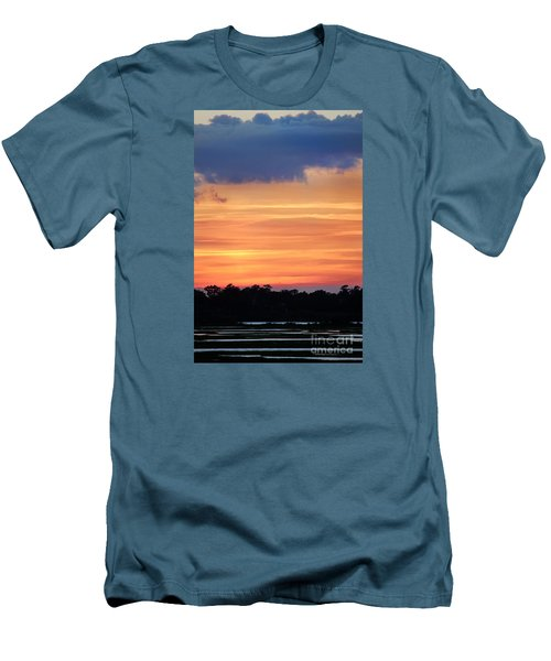Sunset On The Marsh Men's T-Shirt (Athletic Fit)