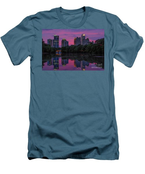 Sunset Over Midtown Men's T-Shirt (Athletic Fit)
