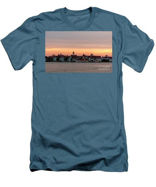 Sunset Over The Grand Floridian Men's T-Shirt (Athletic Fit)