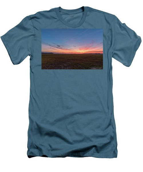 Sunset Pastures Men's T-Shirt (Athletic Fit)