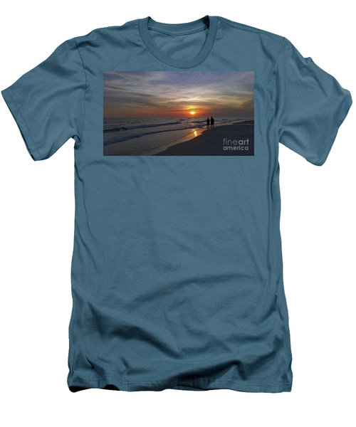 Men's T-Shirt (Slim Fit) featuring the photograph Tranquility by Terri Mills