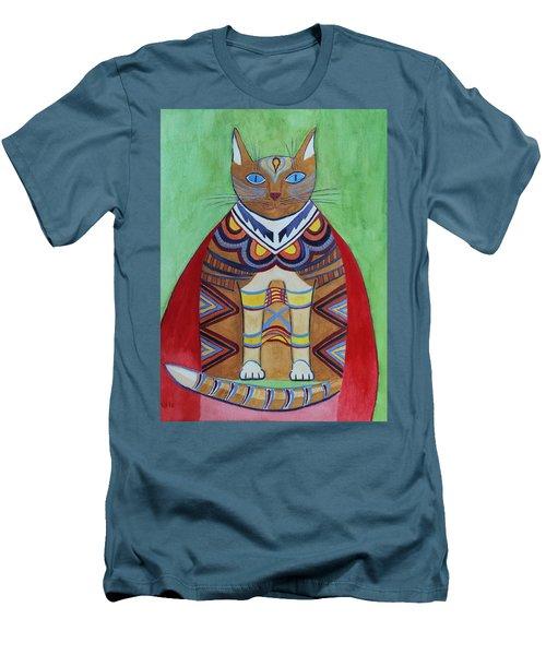 Super Cat Men's T-Shirt (Athletic Fit)
