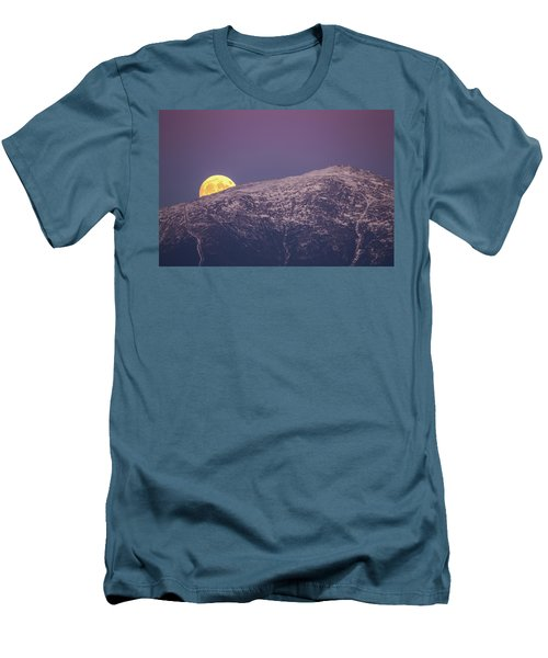 Super Moon Rising Men's T-Shirt (Athletic Fit)