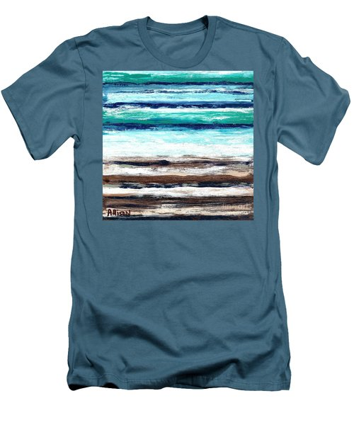 Surf And Turf Men's T-Shirt (Athletic Fit)