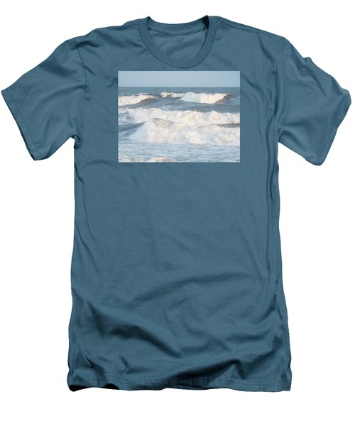 Surf Up Men's T-Shirt (Slim Fit) by Jake Hartz