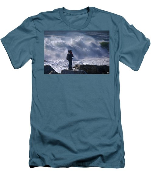 Surf Watcher Men's T-Shirt (Athletic Fit)