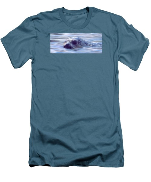 Surfacing Seal Men's T-Shirt (Athletic Fit)