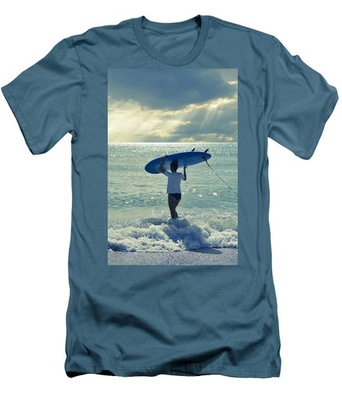 Surfer Girl Men's T-Shirt (Athletic Fit)