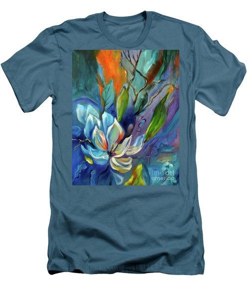 Surreal Magnolias Men's T-Shirt (Athletic Fit)