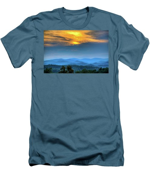 Surrender The Day Men's T-Shirt (Slim Fit) by Dale R Carlson