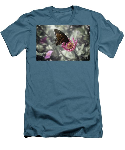 Swallowtail In A Fairytale Men's T-Shirt (Athletic Fit)
