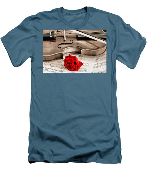 Sweet Music Men's T-Shirt (Slim Fit) by Don Schwartz