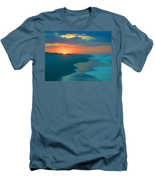 Men's T-Shirt (Slim Fit) featuring the photograph Sweet Sunrise by  Newwwman