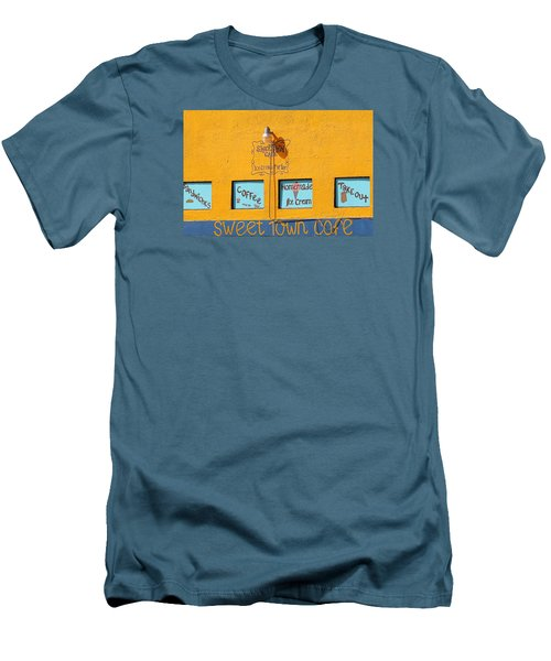 Sweet Town Cafe Men's T-Shirt (Athletic Fit)
