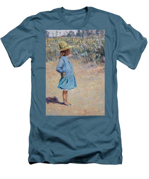 Sweetheart  Men's T-Shirt (Slim Fit) by Pierre Van Dijk