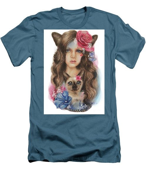 Sweetheart Men's T-Shirt (Slim Fit) by Sheena Pike