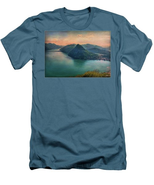 Men's T-Shirt (Athletic Fit) featuring the photograph Swiss Rio by Hanny Heim